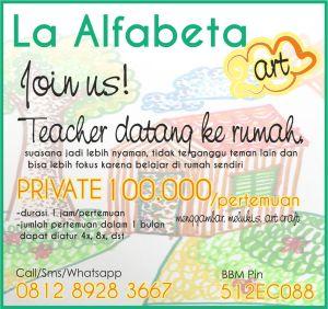 nomor baru LA ALFABETA ART KOTAK