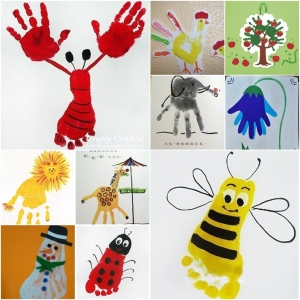 kids-hand-and-food-print-art